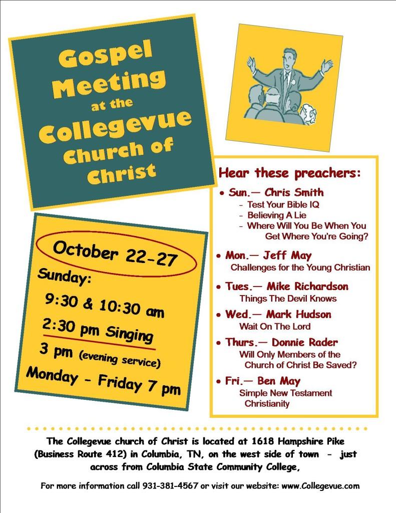 gospel meeting ad fall 17